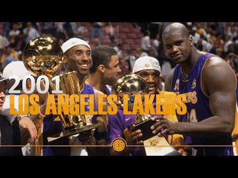 Best Teams in NBA History. 2001 Los Angeles Lakers