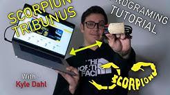 Scorpion Tribunus ESC {Tutorial} - Connecting to PC or MAC + Downloading SProto + Firmware Updates