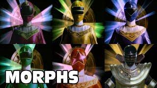 Power Rangers Zeo - All Ranger Morphs | Episodes 2-50 | It's Morphin Time | Superheroes
