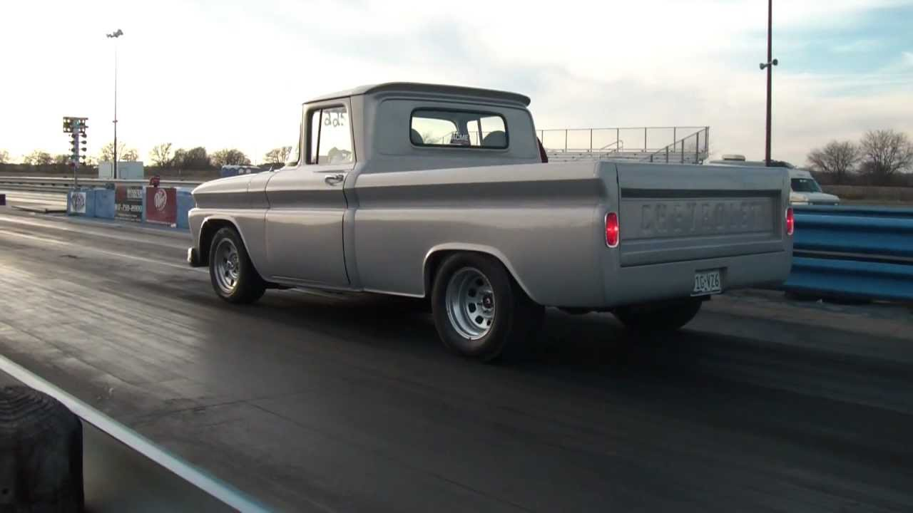 1963 chevy c10 drag racing youtube