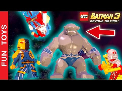 Esquadrão Suicida DLC, TODOS os personagens e fase da DLC do jogo Lego Batman 3 - Gameplay 💣 💀