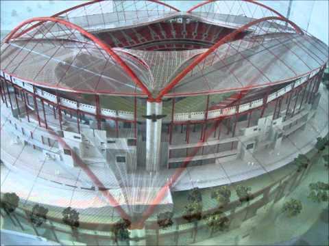 Visita ao estádio da luz.