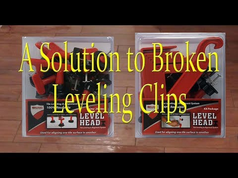 Leveling system Rescue Clip, for when you break a clip.
