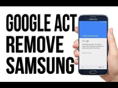 Bypass Google Account Samsung A8/A9 star