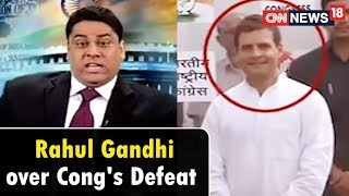 Rahul Gandhi on Congress's Defeat | The Week That Wasn't with Cyrus Broacha | CNN News18