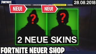 FORTNITE SHOP from 28.8 - 👍 2 NEW SKINS! 🛒 Fortnite Daily Item Shop (Today) (28 August 2018) | Detu