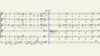Top Pop, Vol. I Medley - Pentatonix (Full Sheet Music w/ Lyrics)