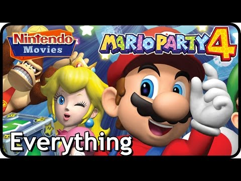 Mario Party 4 - Everything (Multiplayer)