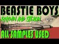 BEASTIE BOYS Rhymin Stealin WHAT SAMPLES Were USED By Metal Cynics mp3