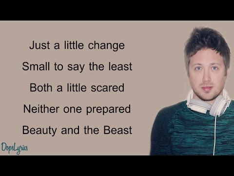 BEAUTY AND THE BEAST (Minor Key Version) - Chase Holfelder, KHS COVER (Lyrics)