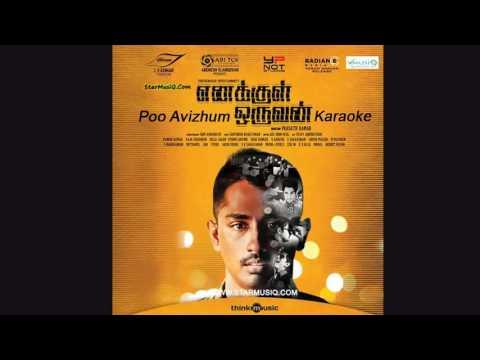 Poo Avizhum (Enakkul Oruvan) - Karaoke (Anand)
