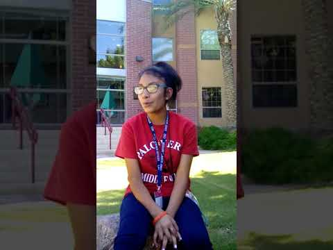 Yarizbeth Palo Verde Middle School in Arizona