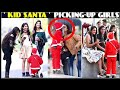 6 year old SANTA PICKING-UP HOT GIRLS !Santa claus Prank !! Scary santa prank ! prank in india