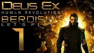 А вот и первая серия моего прохождения Deus Ex Human Revolution  игры которая просто завораживает своим сюжетом