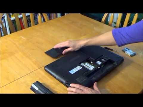 Compaq Presario CQ57 Memory Upgrade How-to