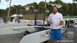 A-Class Worlds 2015 @Punta Ala, Day 2: Mischa Heemskerk Interview