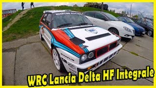 Best Cars Rally WRC Lancia Delta HF Integrale 1987 Documentary.  Rally legends of Lancia