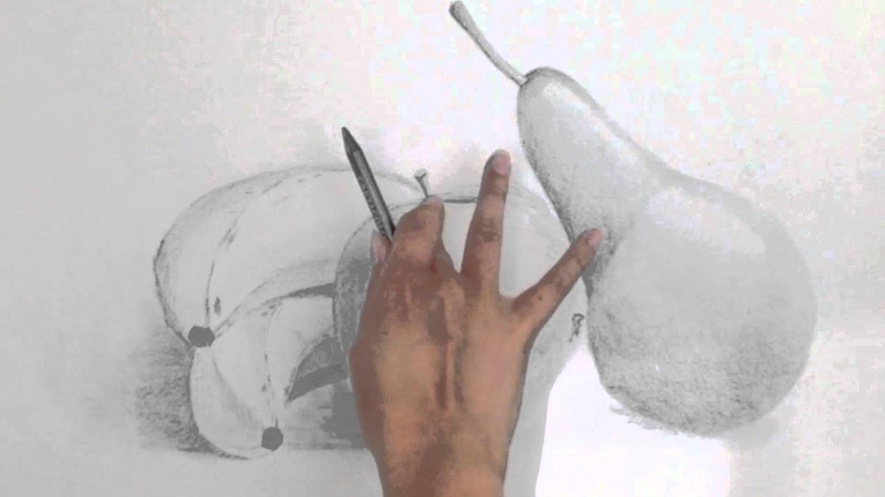 15 jours pour apprendre dessiner une nature morte session 7 gomme et doigt youtube. Black Bedroom Furniture Sets. Home Design Ideas
