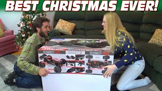 MY BIGGEST PRESENT EVER!!! 5000 Watt Remote Control Car w/ Arrma Kraton 8s (CRAZY RC MONSTER TRUCK)