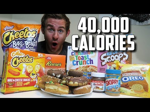 "THE ""SUPERCHARGED"" 40,000 CALORIE CHEAT DAY"