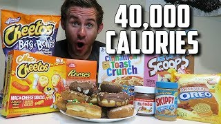 One of ErikTheElectric's most viewed videos: THE SUPERCHARGED 40,000 CALORIE CHEAT DAY