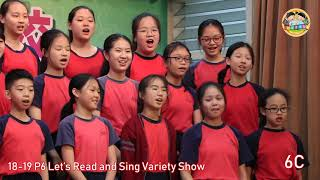 swhps的18-19 P6 Let's Read and Sing Variety Show相片