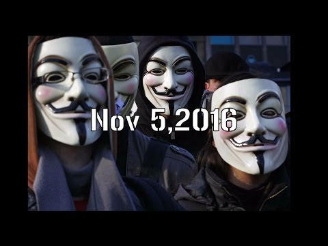 Anonymous Million Mask March November 5,2016