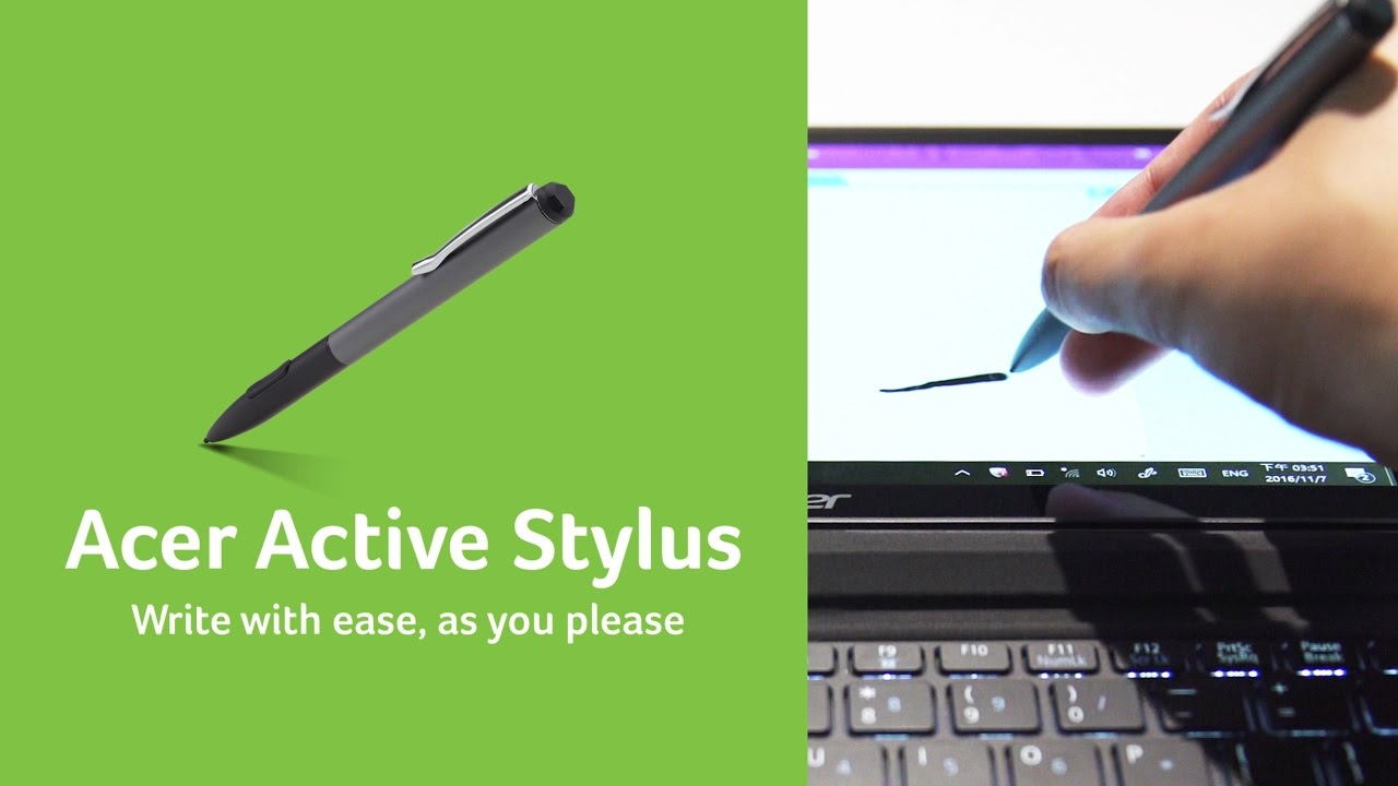 Acer l Active Pens for an Active Imagination