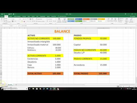 Balance Excel fácil