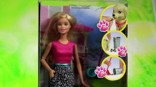 Mattel - Barbie Potty Training Taffy - Barbie Doll and Pet