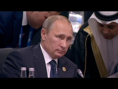 Putin heads home early from G20 but hails