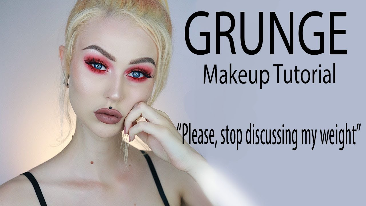 Grunge Makeup | Stop discussing my weight | Trying out New Makeup & Chit Chatting