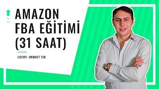 Amazon FBA Satış Eğitimi (26 SAAT) - Udemy.com (24,99 TL)