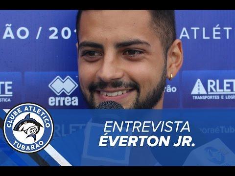 [ENTREVISTA] Atacante Everton Jr   TV Tubarão