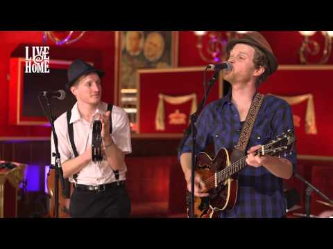 The Lumineers  @Home  Part 1  Flowers in your hair, Ho Hey