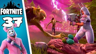 We're up against the Mega Carcasse of Death! Fortnite Saving the World #37