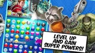 Marvel Puzzle Quest Gameplay Video