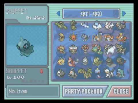 Pokemon Platinum All 493 Shiny Pokemons In Sinnoh Youtube