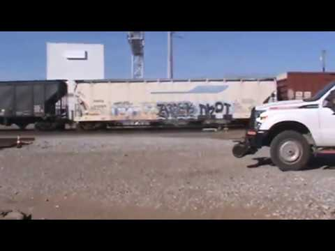BNSF General Freight Tulsa, OK 11/6/16 vid 2 of 10