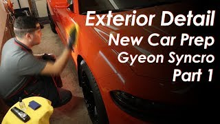 Exterior Detail // Dodge Charger Scatpack // New Car Prep // Gyeon Syncro // Part 1