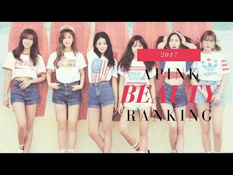Apink Beauty Ranking 2017