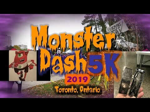 Monster Dash Fun Run Race Toronto 2019