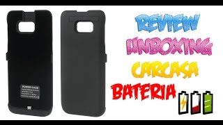 Review Unboxing Carcasa Bateria Samsung Galaxy S6 Power Case Aliexpress