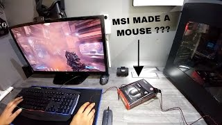 MSI Gaming Mouse - Doom Test & Unboxing