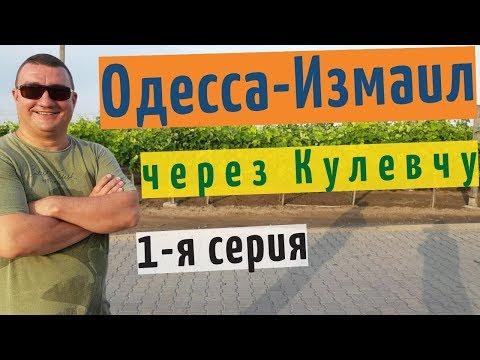 Едем из Одессы в Измаил через Кулевчу по трассе Одесса-Рени  на YouTube канале Взрослый разговор