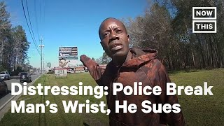 Black Man Sues Georgia Police Over Alleged Excessive Force   NowThis
