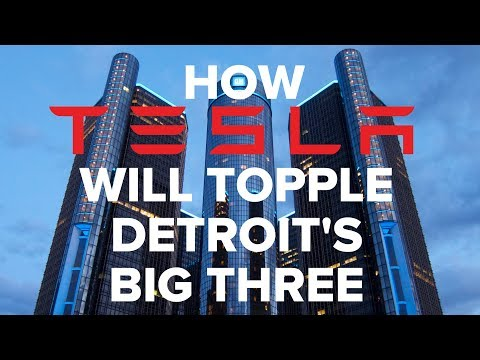 How Tesla Will Topple Detroit's Big Three