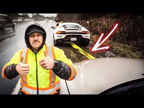 Lamborghini Huracan TOWIING BROKEN Mercedes-Benz *2,800 LBS TOWING CAPACITY*