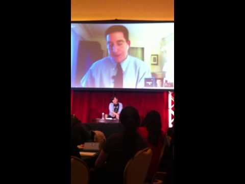 Edward Snowden & Glenn Greenwald Address the Amnesty International Event in Chicago.