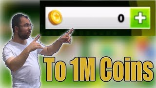 SOCCER STARS Undefeated Legend From 0 Coins To 1M+ COINS IN 12 Minutes
